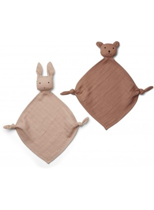 Liewood Baby-Schmusetuch Yoko Rosa Mix kaufen - Kleine Fabriek