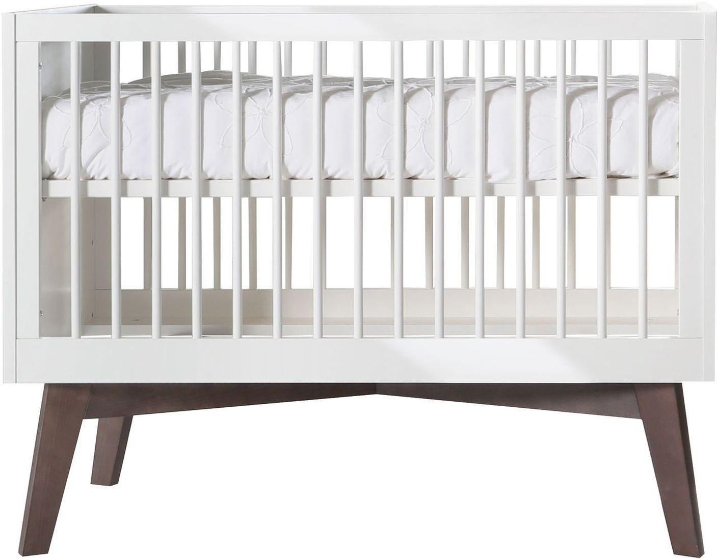 kidsmill babybett sixties 60x120 cm wei kiefer kleine fabriek. Black Bedroom Furniture Sets. Home Design Ideas