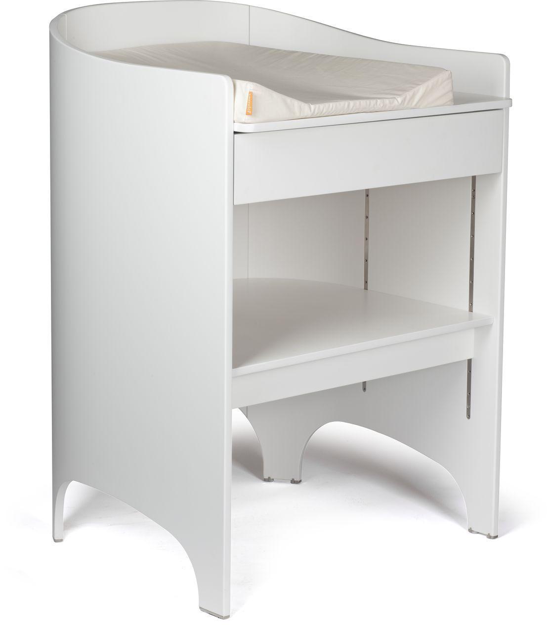 Leander Wickeltisch mit Auflage White - Leander ...