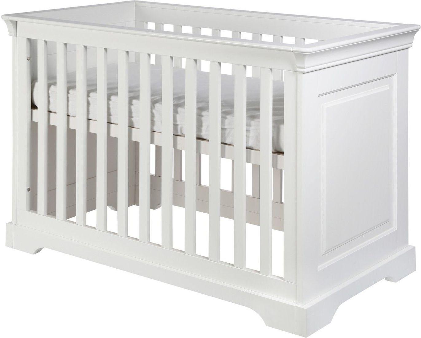 kidsmill babybett marseille 70x140 cm wei kleine fabriek. Black Bedroom Furniture Sets. Home Design Ideas