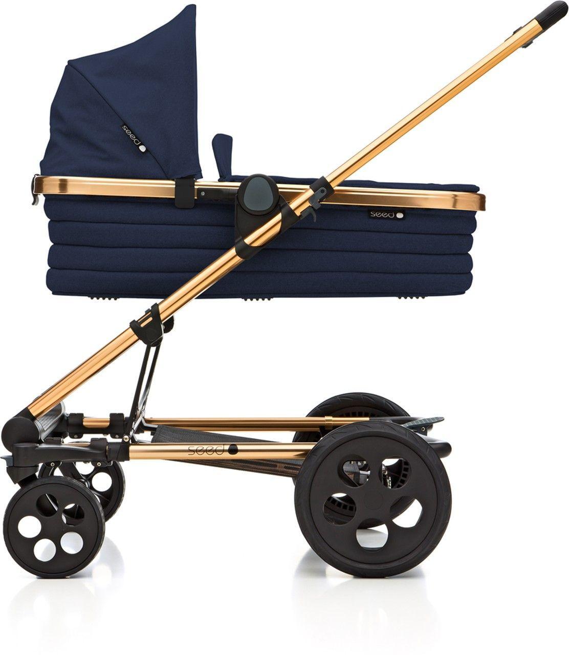 seed papilio kinderwagen set kupfer navy kleine fabriek. Black Bedroom Furniture Sets. Home Design Ideas