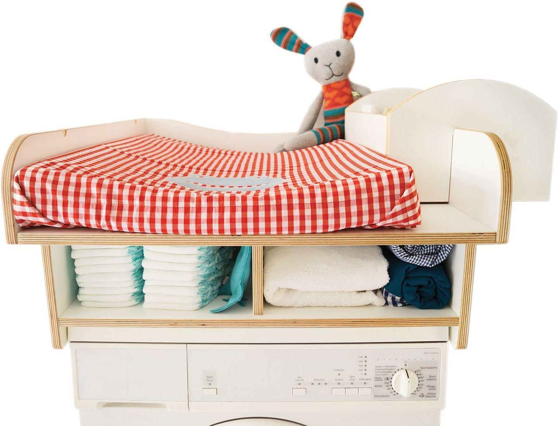 wickwam wickelaufsatz f r waschmaschine wei wickelauflagen ausstattung kinderzimmer. Black Bedroom Furniture Sets. Home Design Ideas