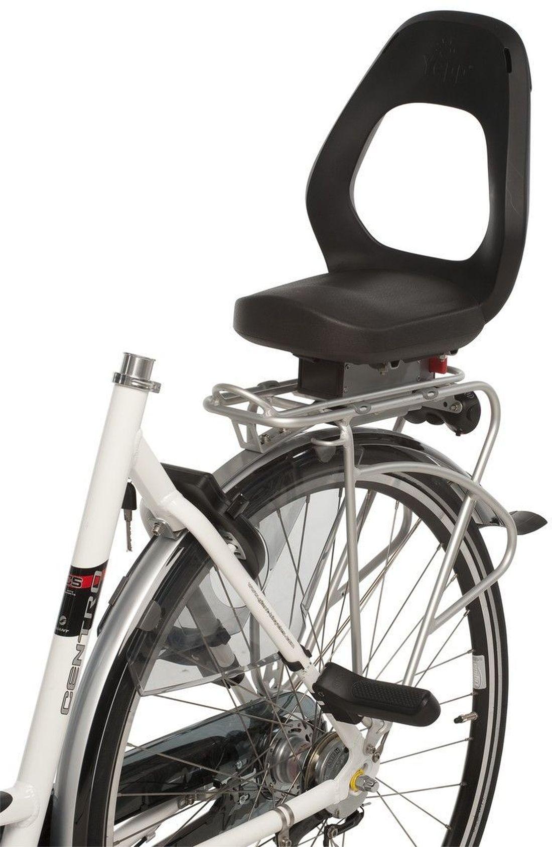 yepp junior fahrradsitz easyfit schwarz  fahrradsitze