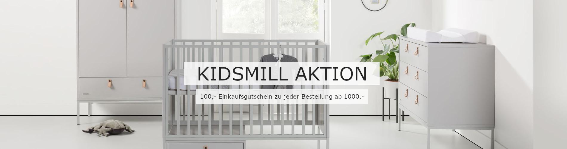 Kidsmill-Aktion bei Kleine Fabriek - Gutschein