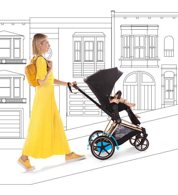 Cybex e-Priam Kinderwagen Berlin bestellen - Kleine Fabriek