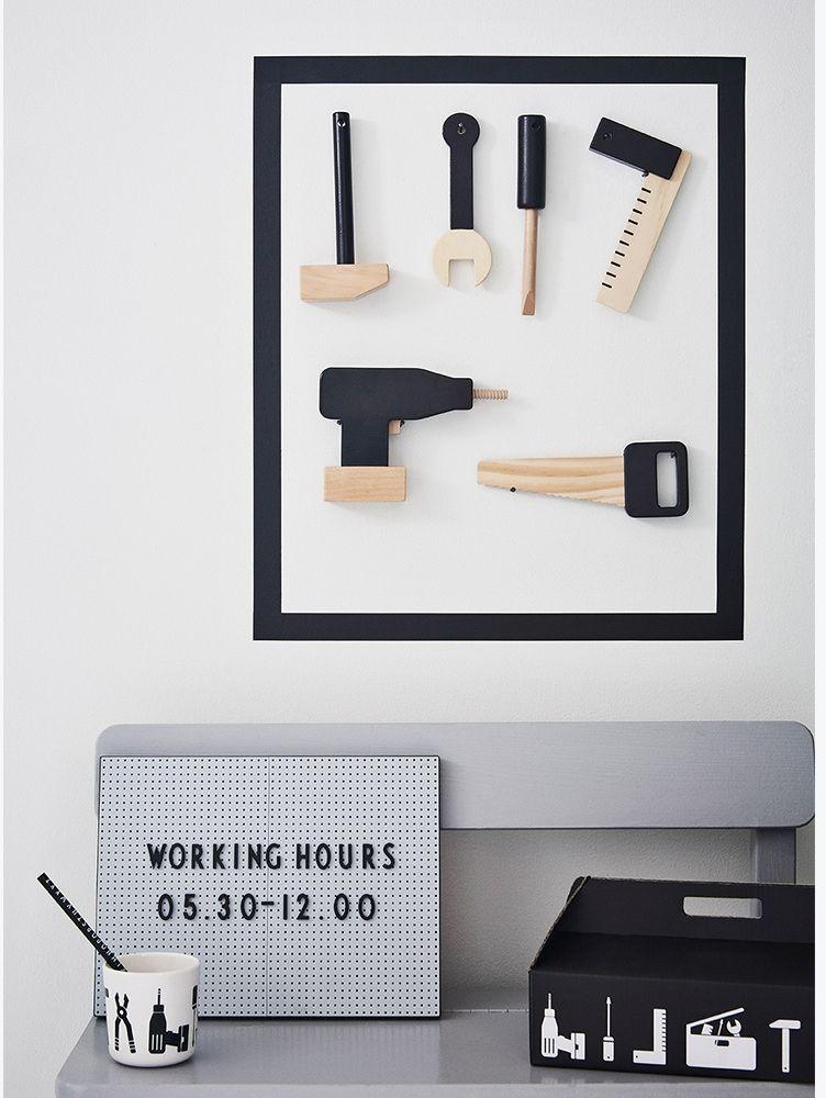 Kinderzimmer-Deko - Design Letters - Kleine Fabriek