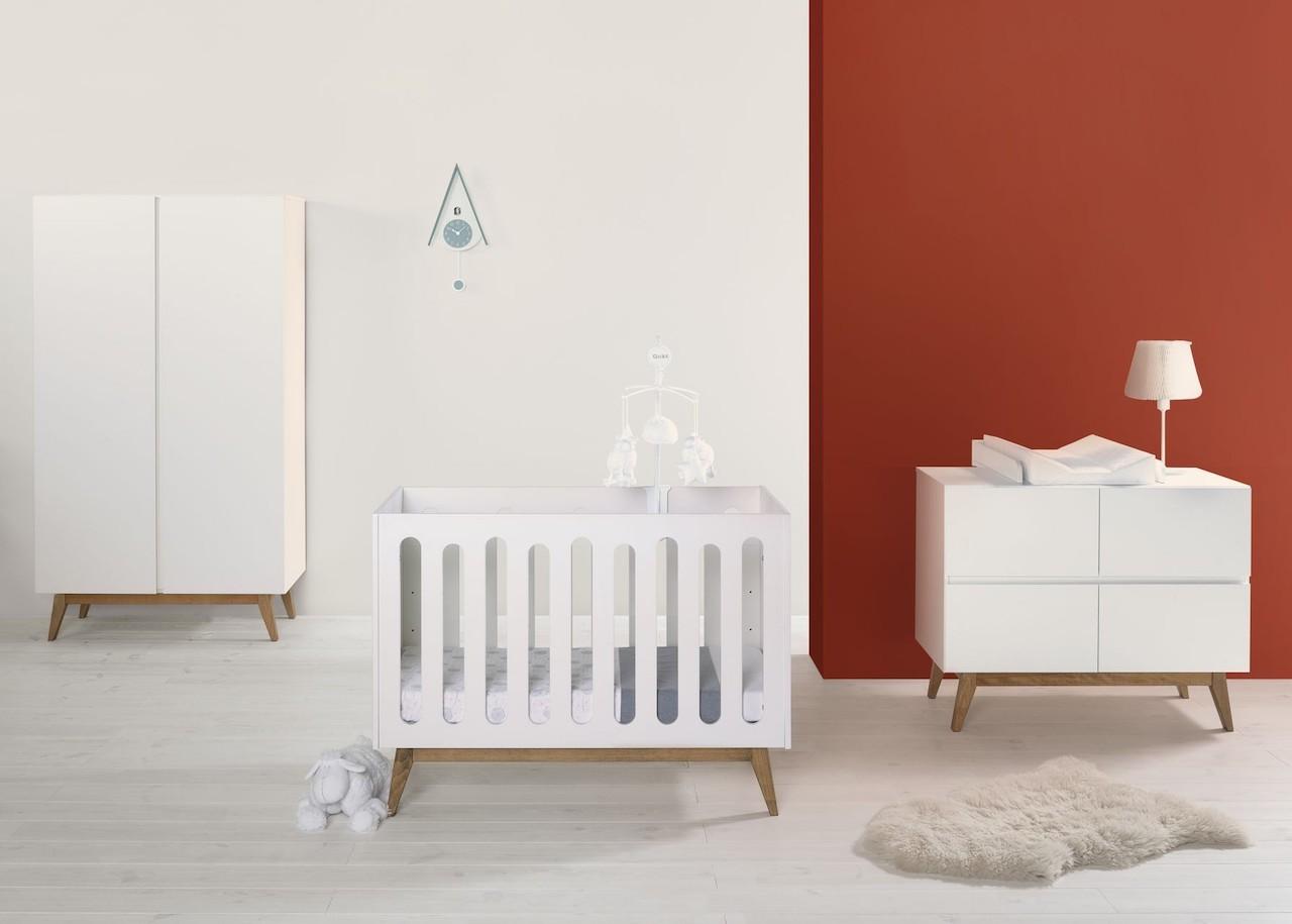 Quax Trendy Weiß Babybett kaufen - Kleine Fabriek