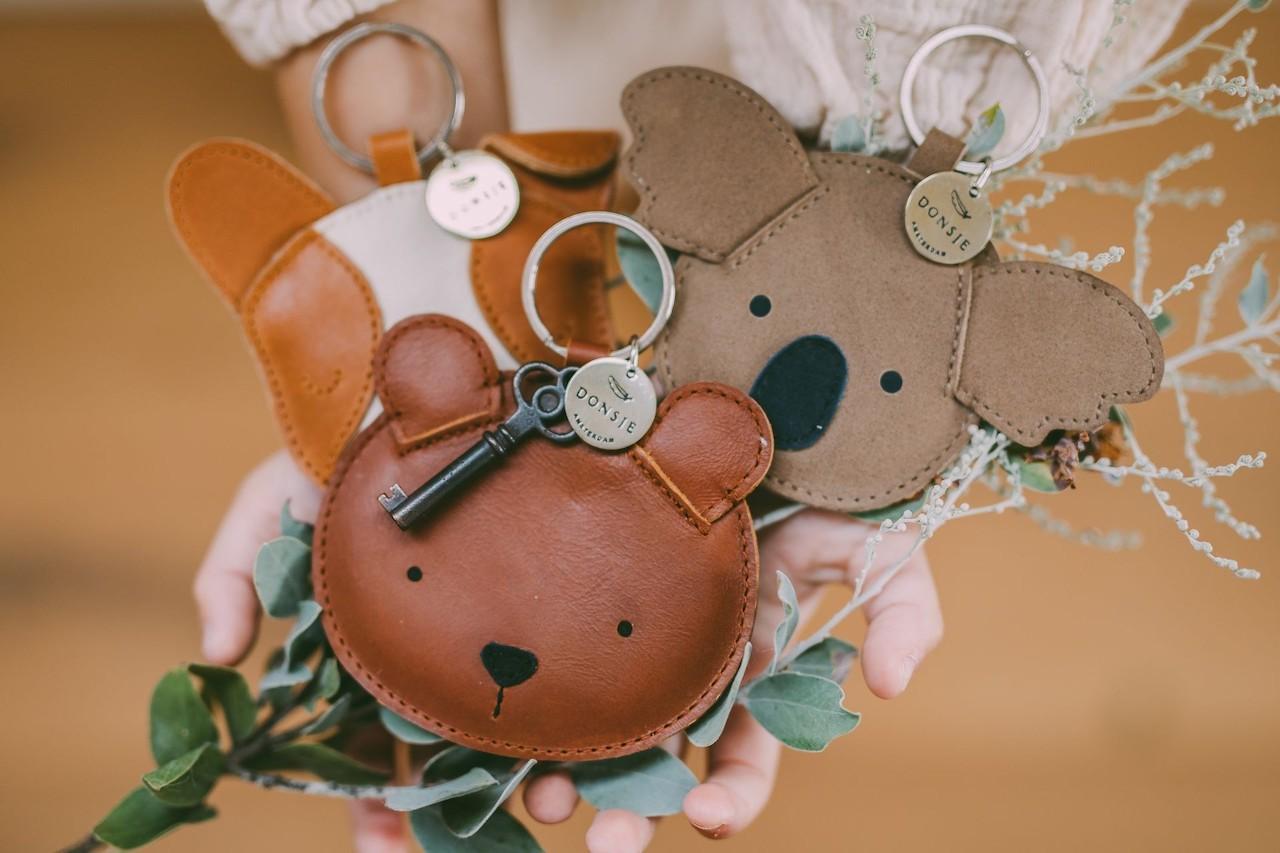 Donsje Kinder-Schlüsselanhänger aus Leder kaufen - Kleine Fabriek