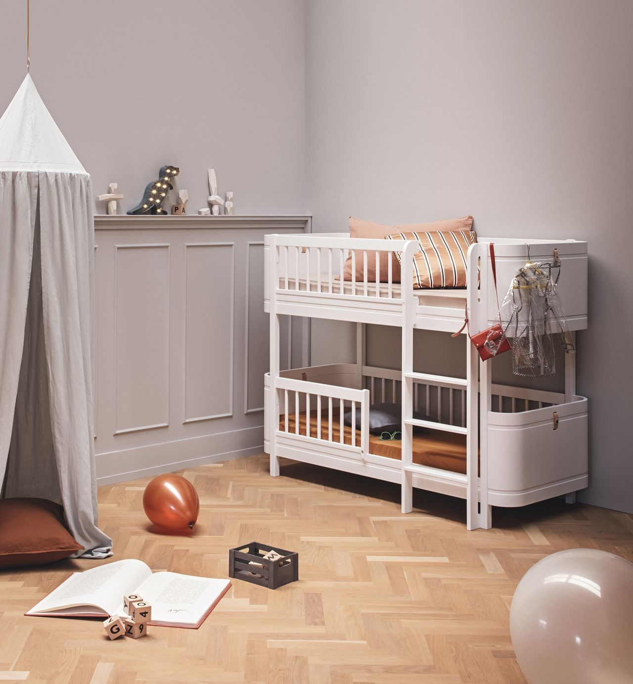Oliver Furniture Wood Mini+ halbhohes Etagenbett kaufen - Kleine Fabriek