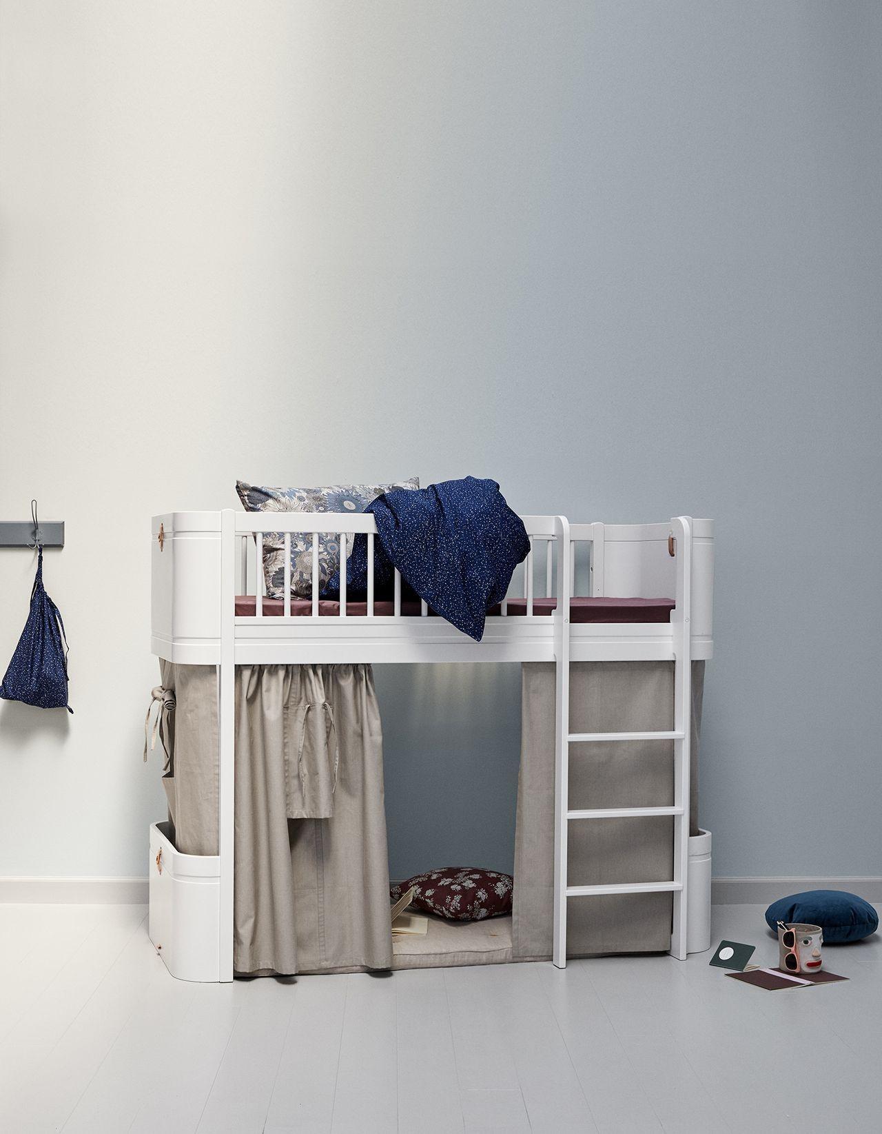 Oliver Furniture Wood Mini+ halbhohes Hochbett kaufen - Kleine Fabriek