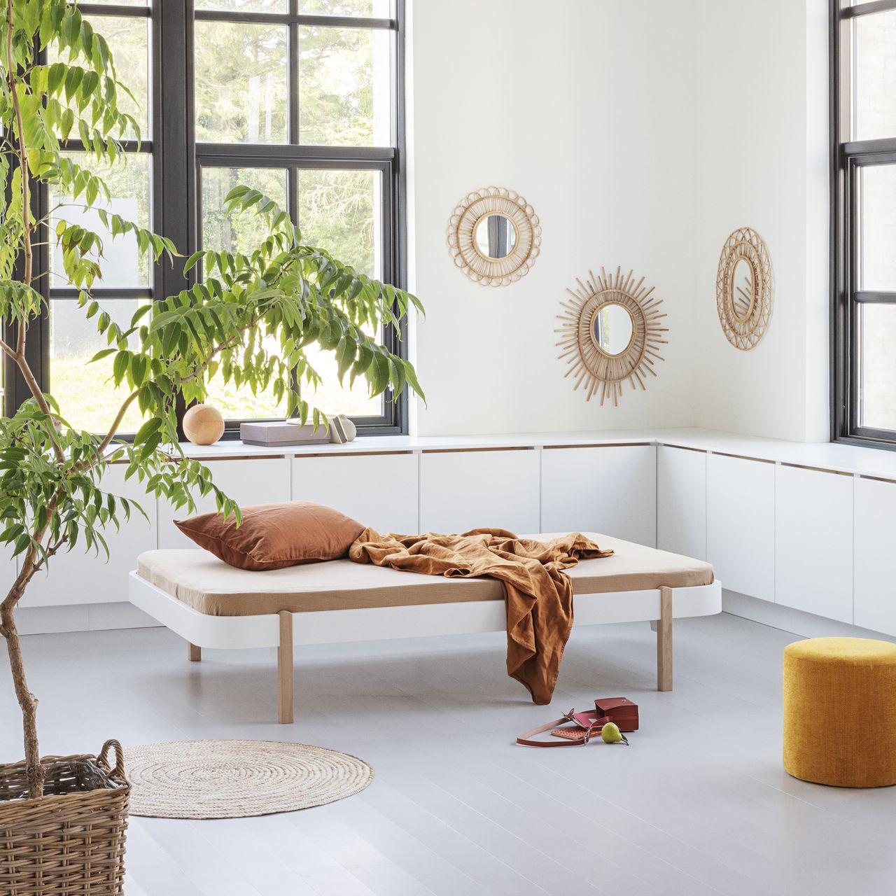 Oliver Furniture Wood Lounger Weiß - Eiche in Berlin kaufen - Kleine Fabriek