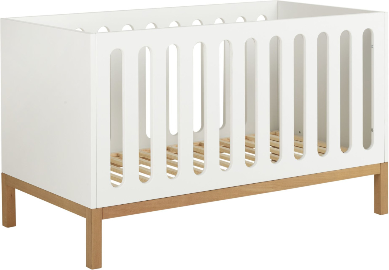 Quax Indigo Weiß Babybett kaufen - Kleine Fabriek