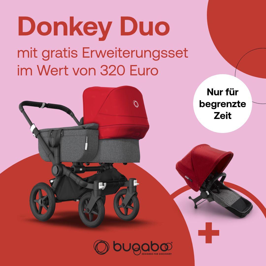 Bugaboo Donkey 3 Aktion gratis Erweiterungsset - Kleine Fabriek