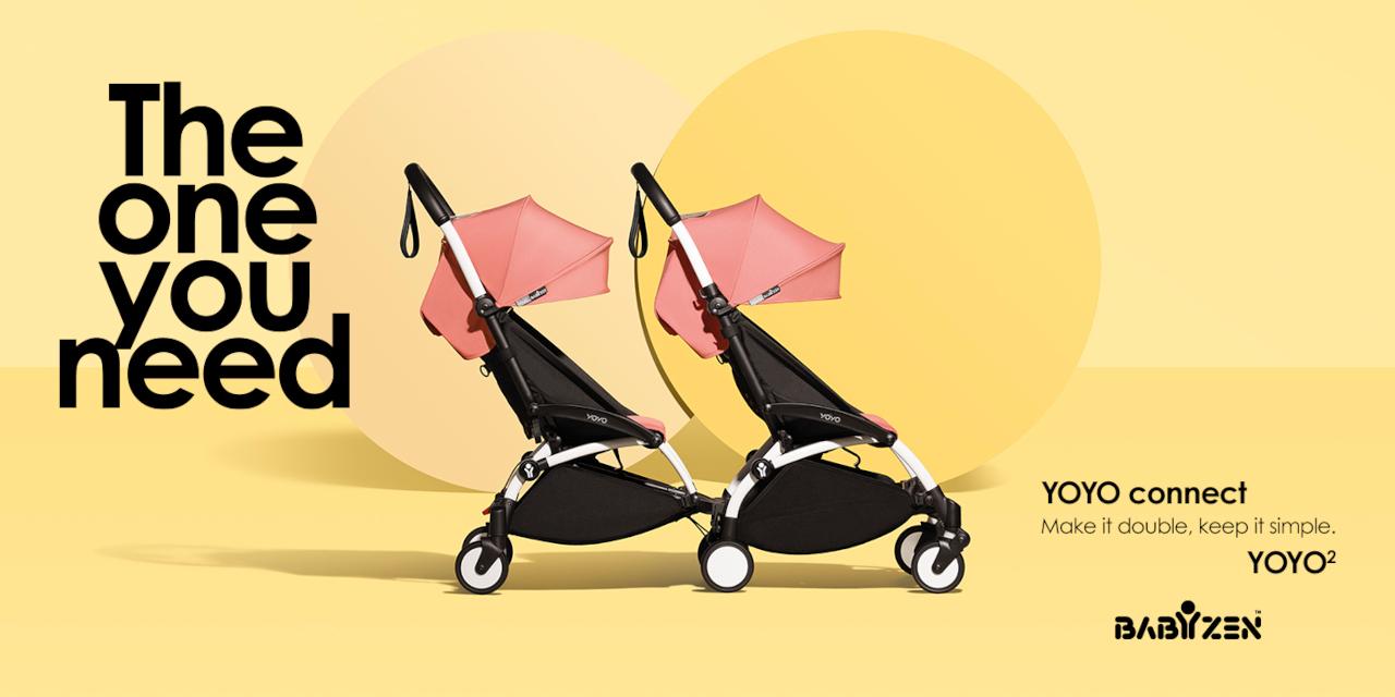 Babyzen YOYO Connect Buggy für Geschwister in Berlin kaufen - Kleine Fabriek